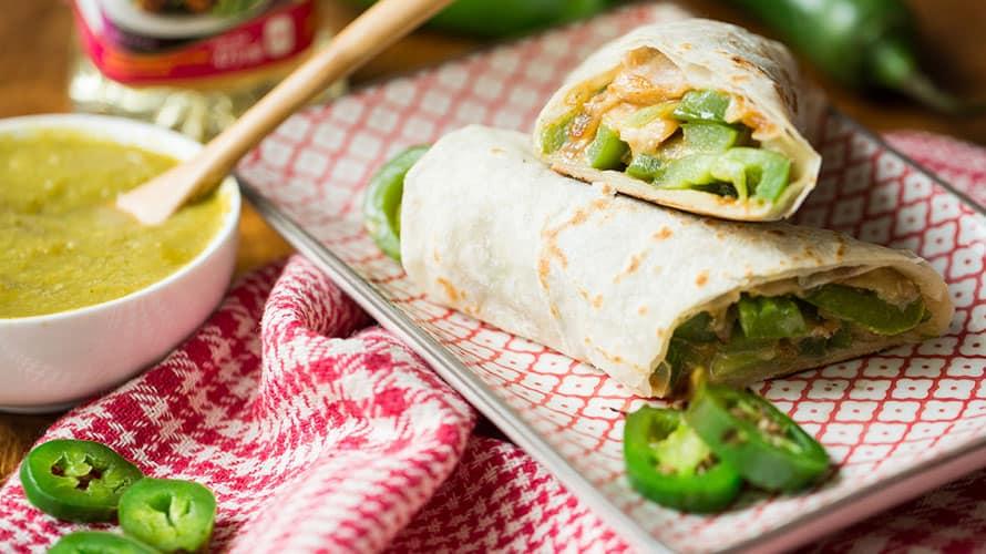 Burrito de Pollo y Queso Paso 4