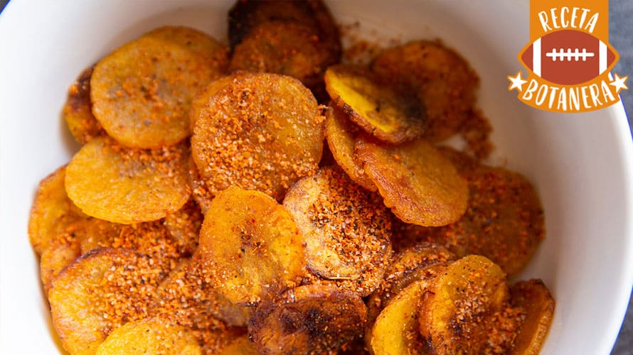 Chips de Plátano Paso 4