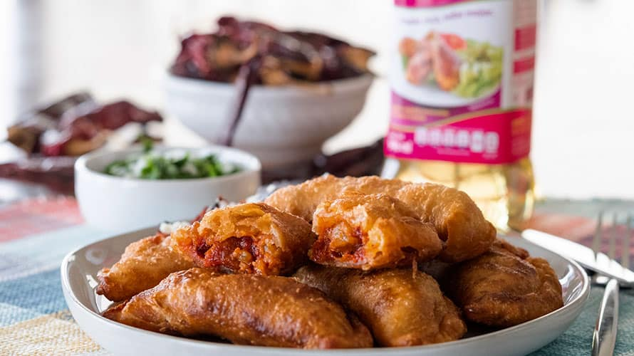 Empanadas de Chicharrón Paso 5