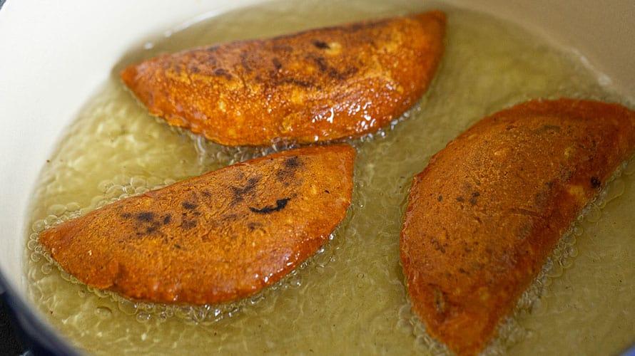Enchiladas Potosinas Paso 4