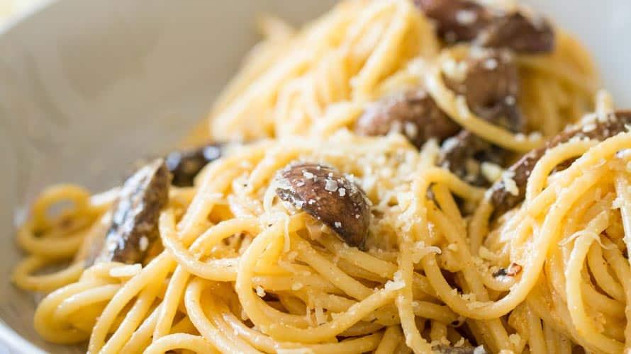 Espagueti Alfredo Paso 5