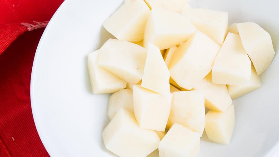 Tacos de Papa Crujientes Paso 1