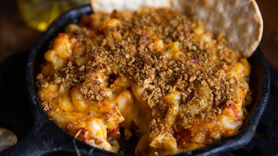 Mac and Cheese con Chorizo Paso 4