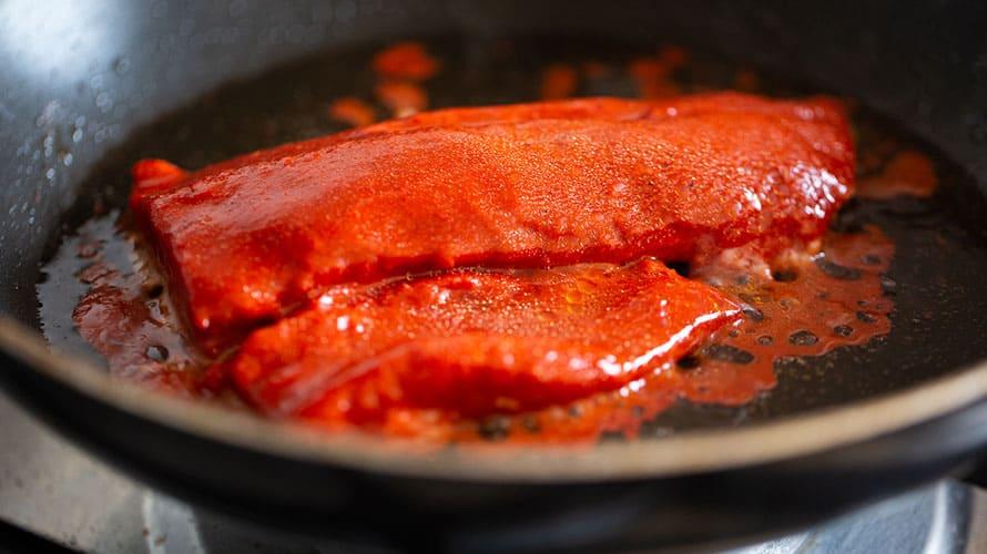 Tacos de Pescado al Pastor Paso 4